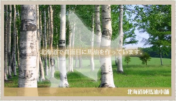 北海道で真面目に馬油を作っています